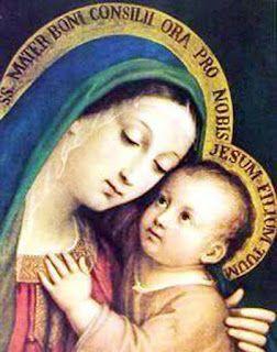 Madres, pidamos a Dios el don de aconsejar a nuestros hij@s...