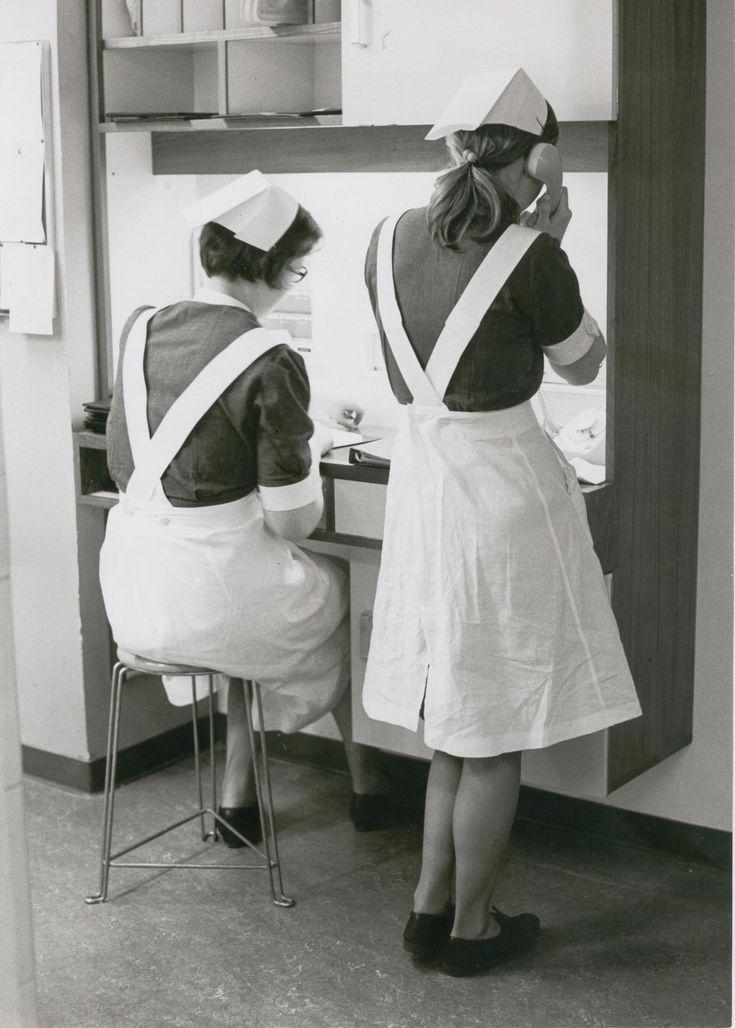 Zusterpost in de jaren '60 Diaconessenhuis Eindhoven #ziekenhuis