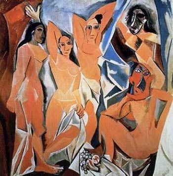 'Las Señoritas de Avignon', de Picasso Las señoritas de Aviñón o de Avinyó es un…