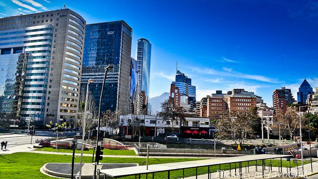 Tobalaba, Santiago de Chile #chile #Sanhattan #Clear
