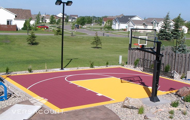 Best 27 versacourt images on pinterest other for Small basketball court