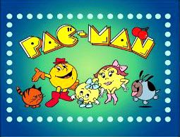 Pac-Man. 80s cartoons