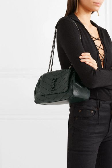 2efa53ba0c5 Saint Laurent | Nolita medium quilted leather shoulder bag |  NET-A-PORTER.COM