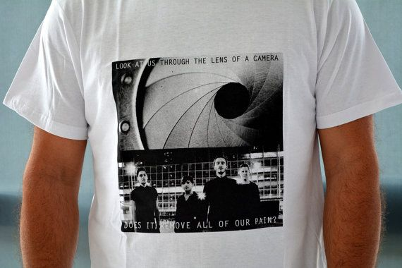 men's t-shirt lens of a camera by etymologydesign on Etsy