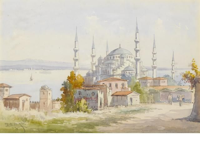 Serif (Turkish, early 20th century) Suleiman Mosque, Istanbul
