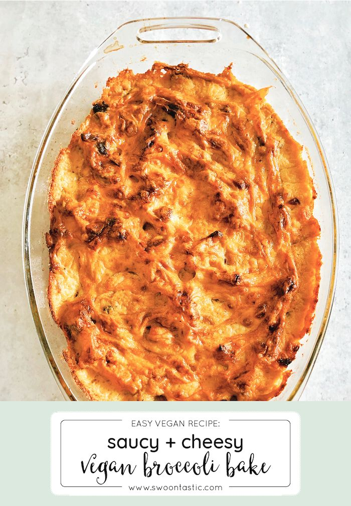 This versatile vegan cauliflower + broccoli bechamel bake recipe keeps my family coming back for more. Ooey, gooey yummi…