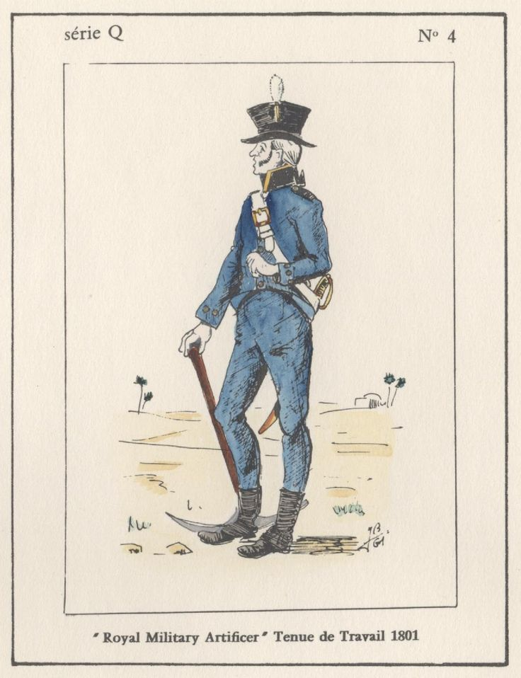 british royal military articifer tenue de travail egypt 1801 bonaparte in egypt pinterest. Black Bedroom Furniture Sets. Home Design Ideas