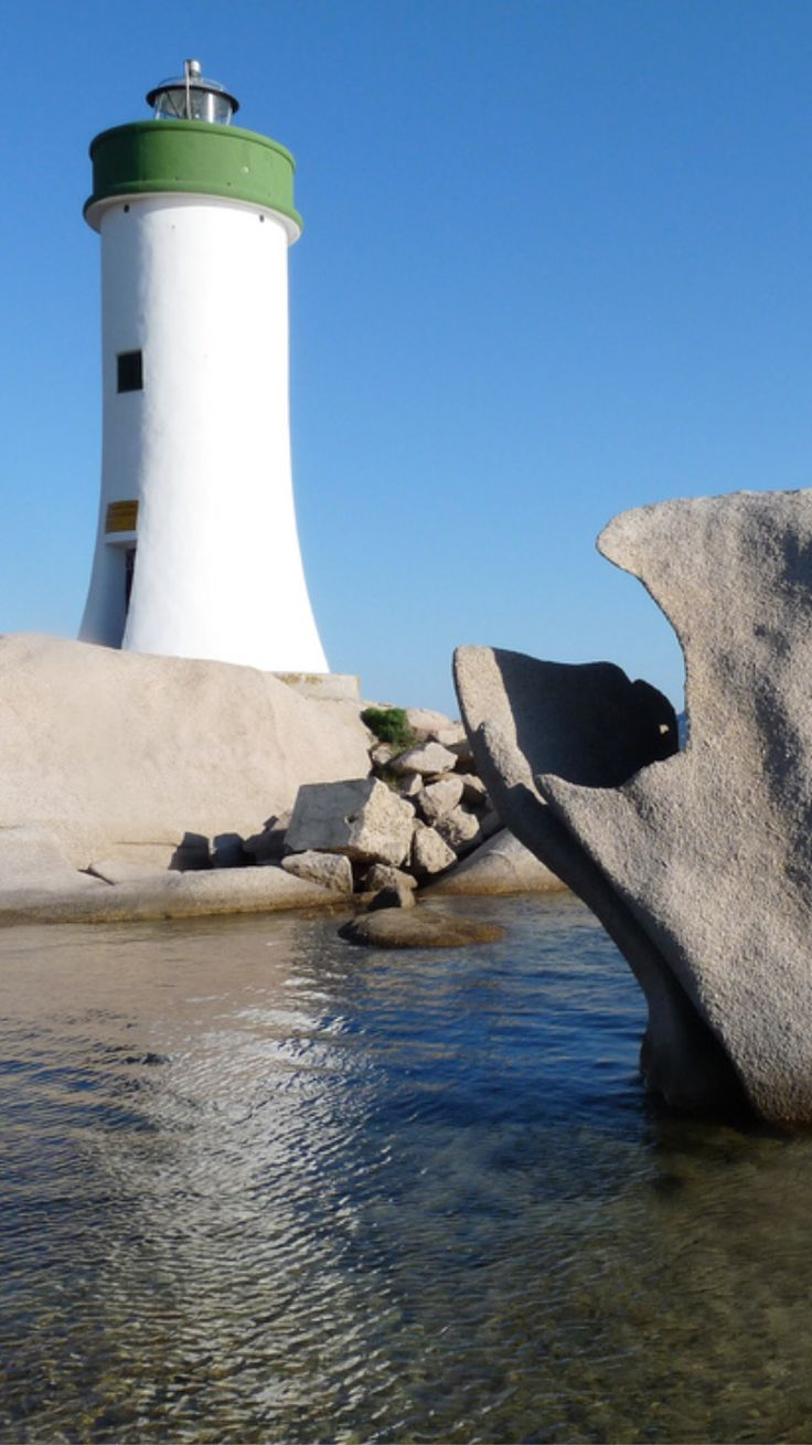 Porto Palau Lighthouse in Sardinia- by Cool Pooch