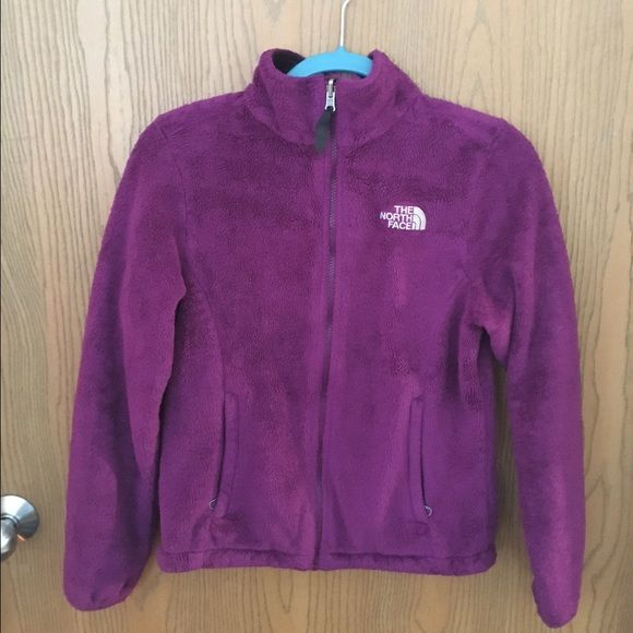 Northface women's zip-up fleece Purple women's zip up fleece. Very warm, no holes or problems. Not as soft as when originally bought due to washing. Only worn a handful of times. North Face Jackets & Coats