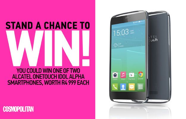 WIN an Alcatel OneTouch Smartphone