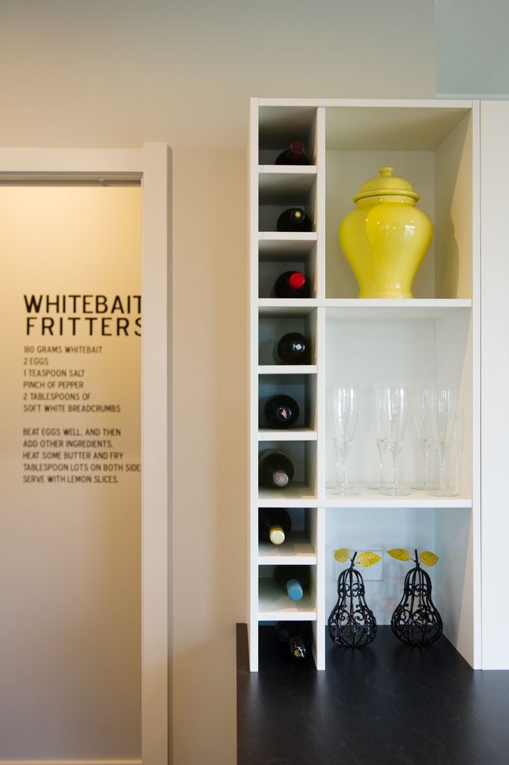 Be organised in your kitchen. Print your favourite iconic recipe on your pantry wall, for whenever you'll need it!