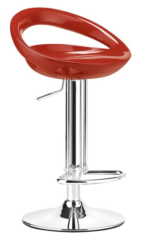 Tickle Barstool Red | by Zuo Modern