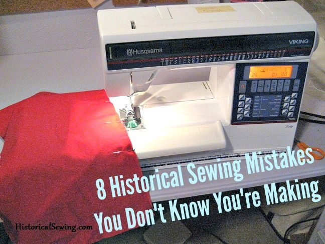 8 Sewing Mistakes You Don't Know You're Making