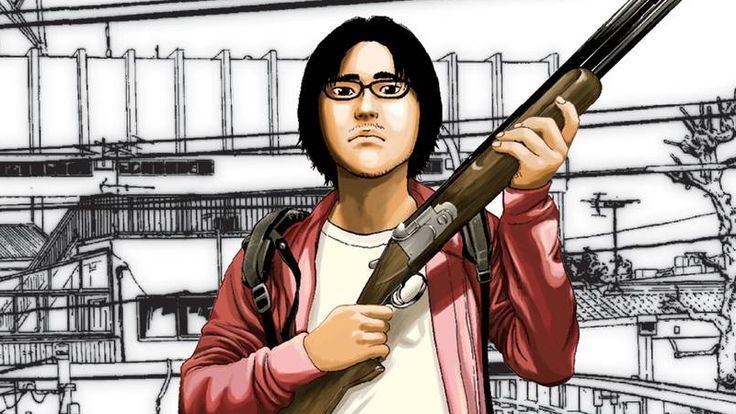 Here's Your First Look at the Badass Japanese Zombie Comic Everybody's Talking About
