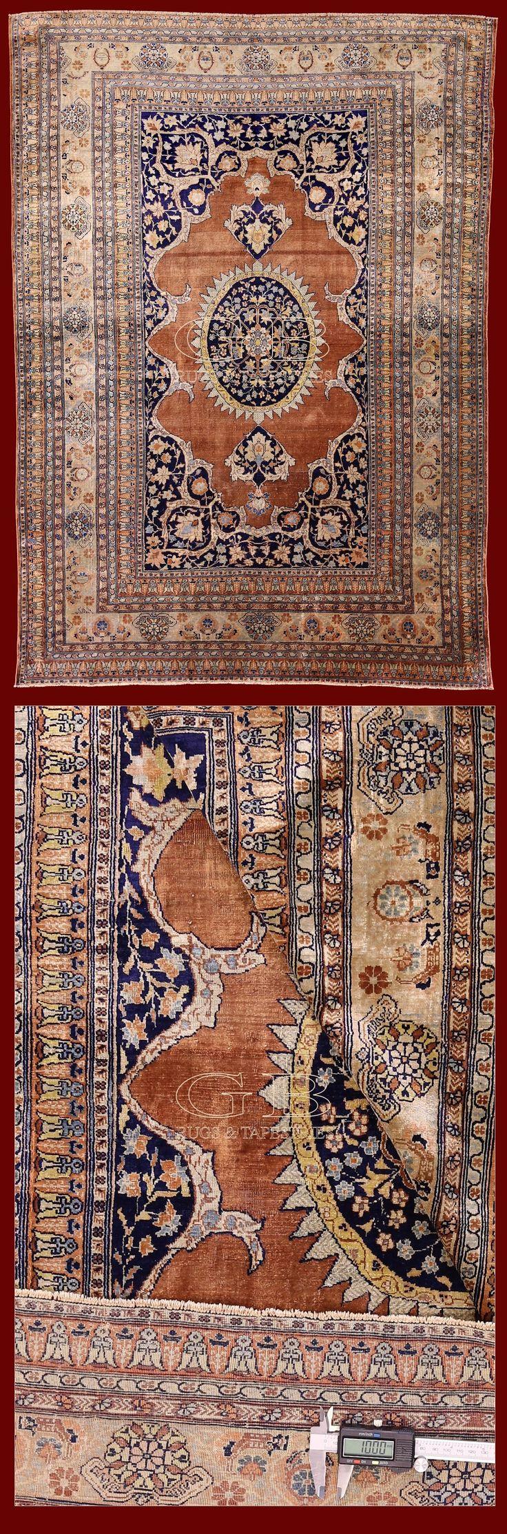 Heriz seta antico, Iran, <h2>tappeti antichi per collezionisti e da investimento, il meglio della collezione gb-rugs.</h2> tappeti unici sotto ogni aspetto
