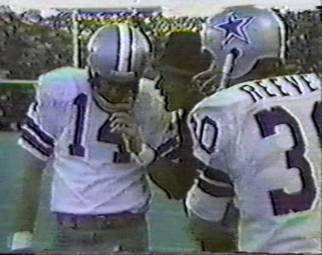 Quarterback CRAIG MORTON (14) and running back DAN REEVES (30)--December 26, 1970 (NFC Playoff)
