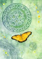 Celtic Butterfly by LucieOn