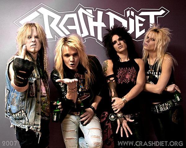 sexiest band. Love Crashdiet.