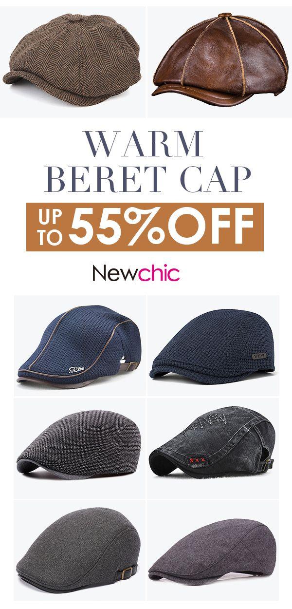 302beaebbeb6d Mens Warm Beret Cap Collection.  cap  outdoor  menswear  mensfashion ...