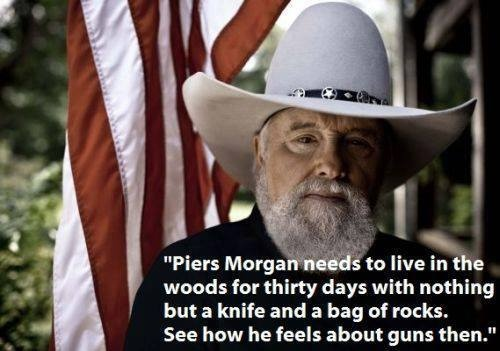 Charlie Daniels Thoughts on Guns...