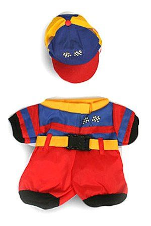 """Nascar Racing Uniform Outfit Teddy Bear Clothes Fit 14"""" - 18"""" Build-a-bear, Vermont Teddy Bears, and Make Your Own Stuffed Animals List Price: $13.99 Discount: $1.00 Sale Price: $12.99"""