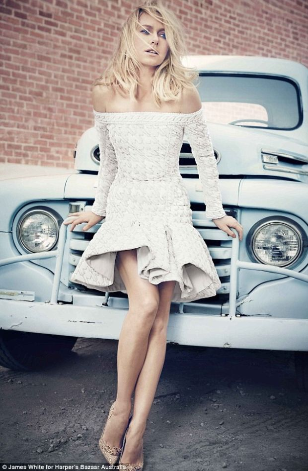 Naomi Watts in Harper's Bazaar Australia, May 2014.