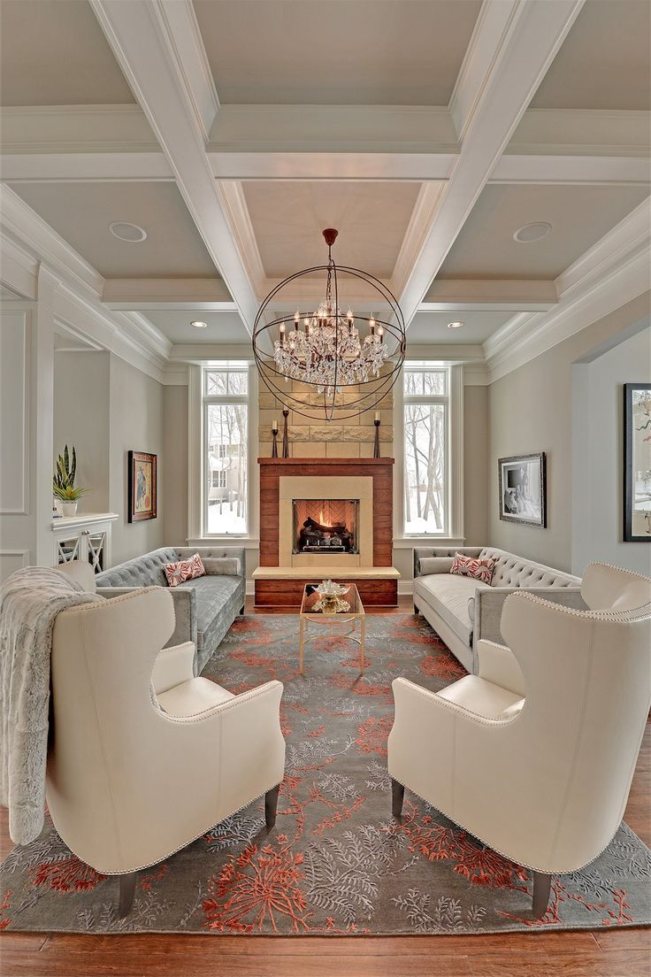 Transitional Living Room | Stonewood, LLC