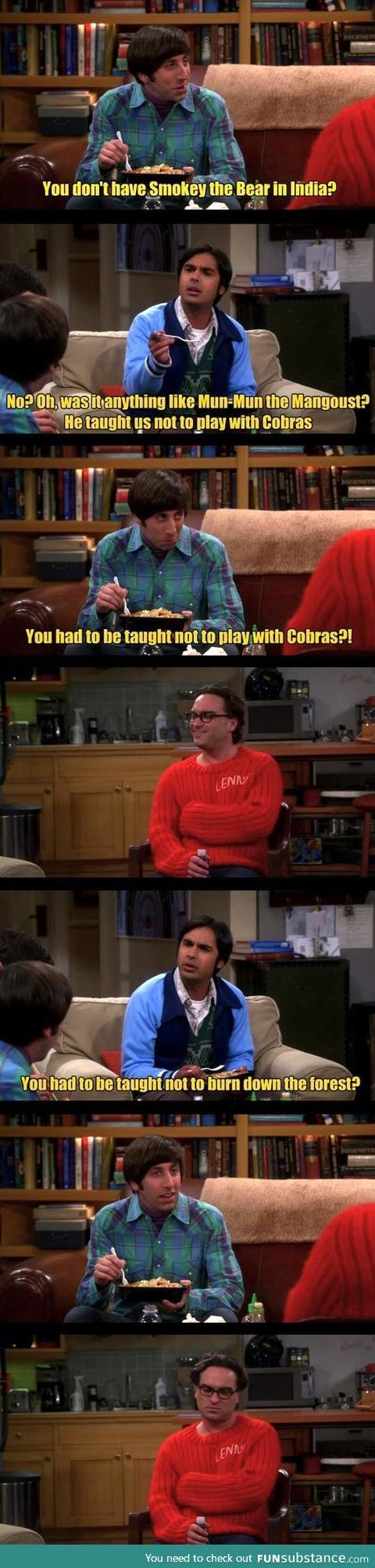 Funny big bang theory pictures 27 pics - Big Bang Theory Oh Raj You Have A Point
