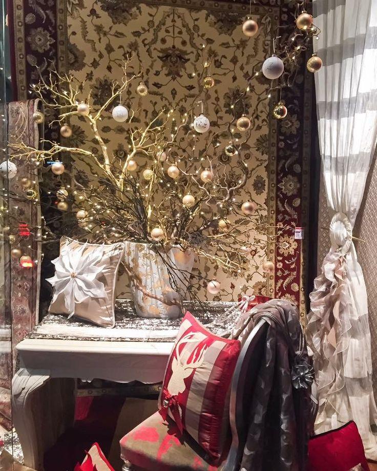 Christmas design gold/white handmade pillows