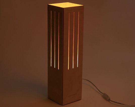 Creative Cardboard Lamps.