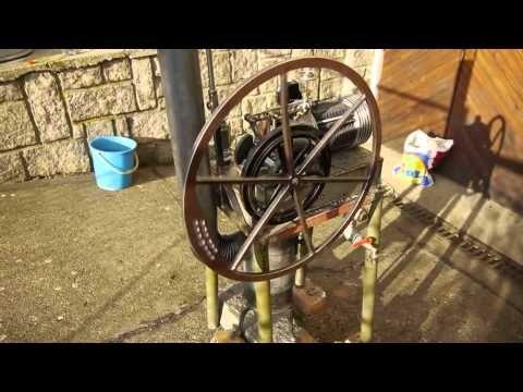 Hot air engine 2012 - Czech homemade - YouTube