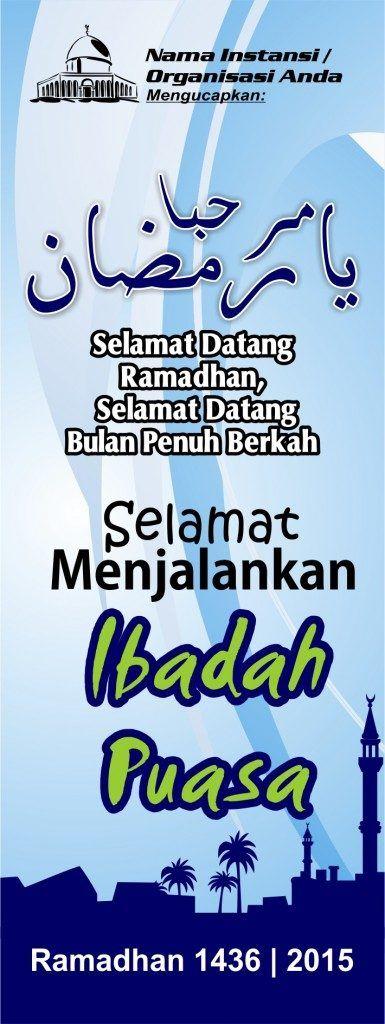 Spanduk Banner Ramadhan