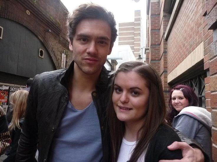 Andy Brown, first time meeting Lawson.
