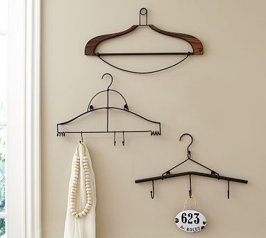 One rule: No more wire hangers.   28 Easy Solutions To Your Closet Problems