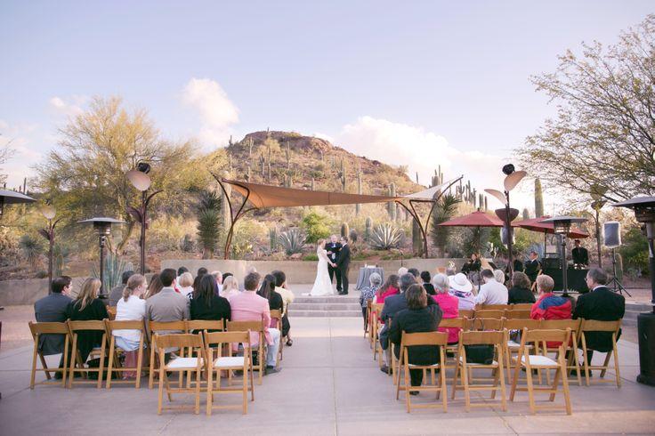 Cool Outdoor Wedding Venues Across Canada: Venue: Ullman Terrace At Desert Botanical Garden
