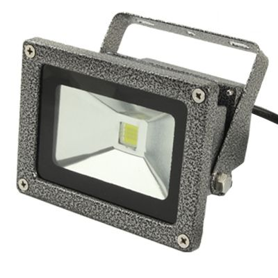 [$8.07] High Power 10W Waterproof LED Floodlight Lamp, AC 85-265V, Luminous Flux: 800-900lm (Grey)