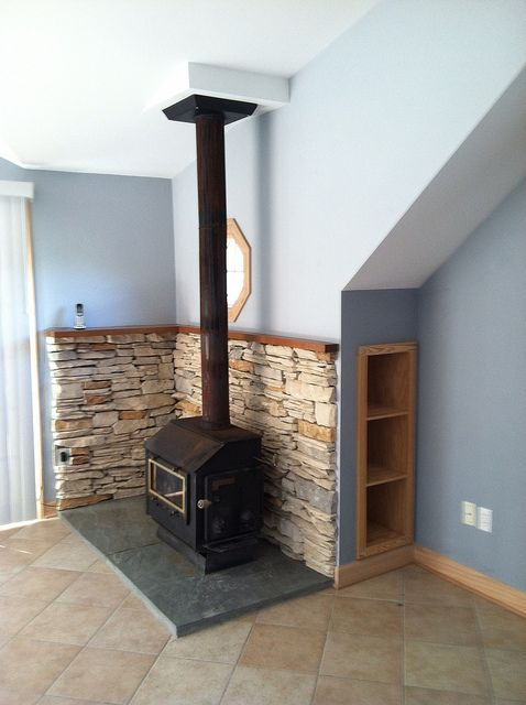 Wood stove - maybe convert to a pellet stove - 17 Best Images About Fireplaces On Pinterest Stove Fireplace