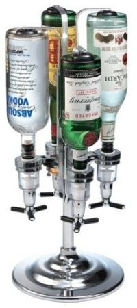 4-Bottle Drink Dispenser, $48 | 33 Surprising Kitchen Gifts for the bartender in the house