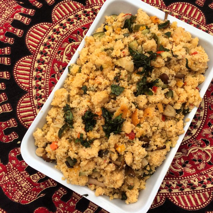 Vegetarian couscous from our Brunch Menu!