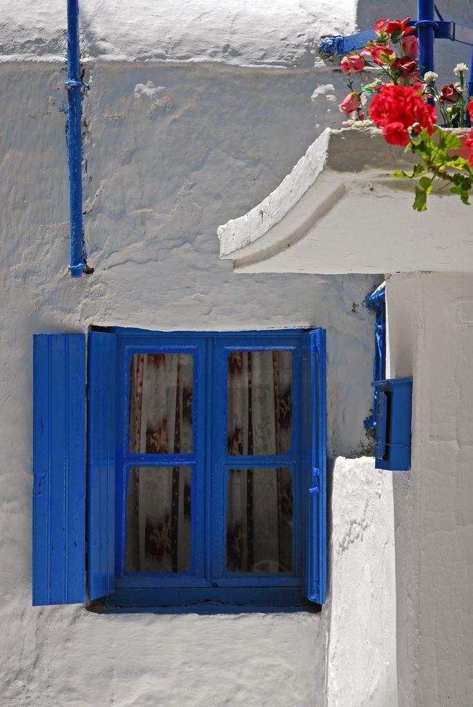 White + Blue of Aegina, Greece