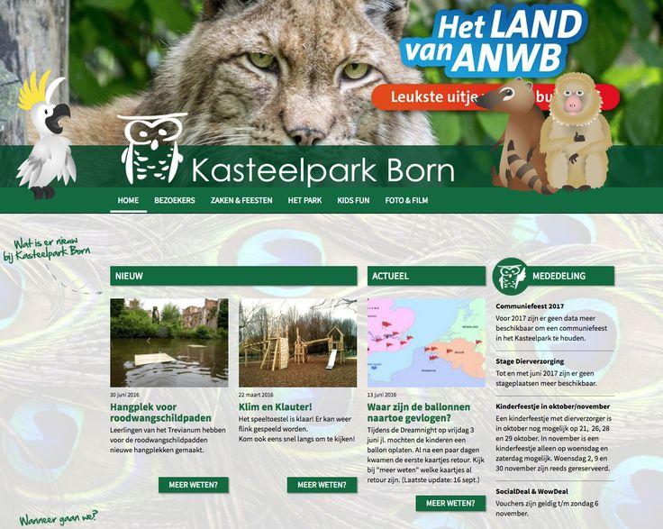 Kasteelpark Born is een dierenpark dat gelegen is in de tuinen van voormalig Kasteel Born. Leuk voor jong en oud.