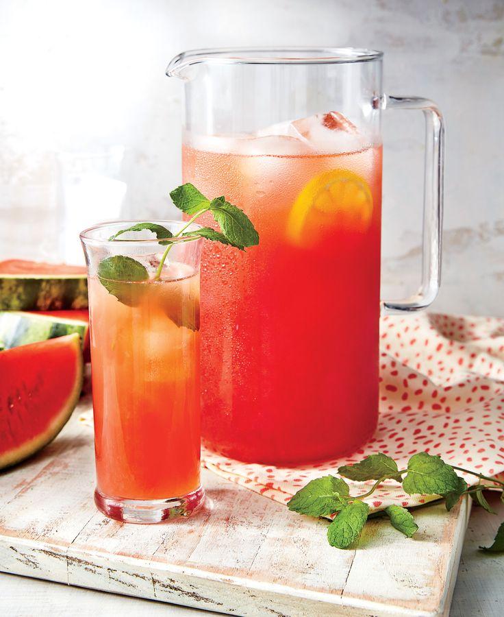 Spiked Watermelon Lemonade Recipe