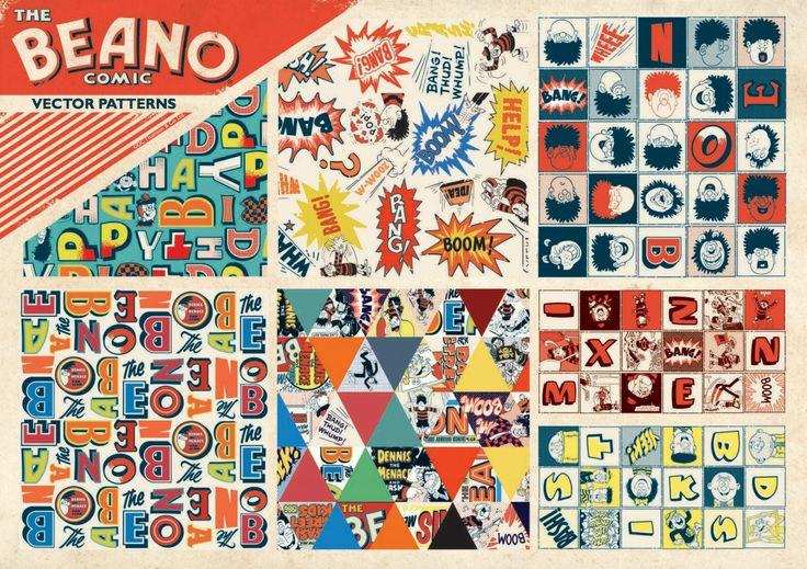 Beano Brand Guidelines Designed by Wayne Hemingway