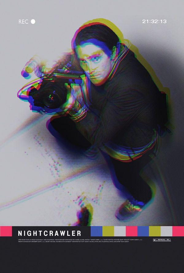 Nightcrawler alternative movie poster by TheArtOfAdamJuresko