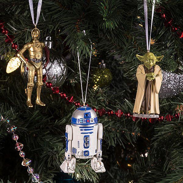 Star Wars C-3PO, R2-D2 and Yoda Ornament