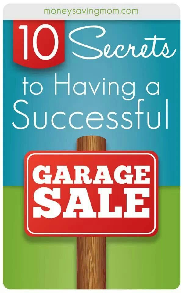 10 images about garage sale ideas on pinterest circles for Garage basics