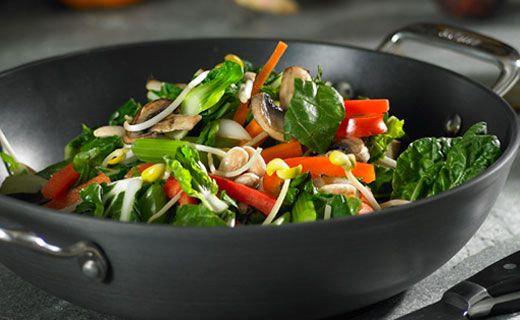 Epicure's Stir-fried Vegetables with Almonds  (Copyright © Epicure Selections)