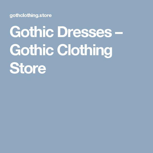 Gothic Dresses – Gothic Clothing Store