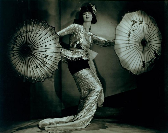 Ruth St Denis in a Burmese solo dance. by New York Public Library, via Flickr