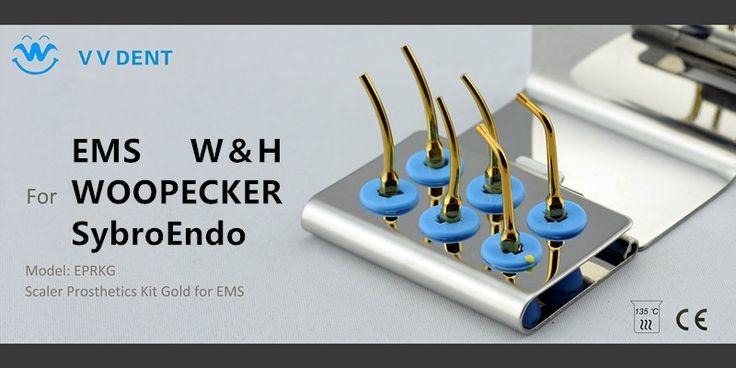 36.65$  Buy here - http://aliuvj.shopchina.info/1/go.php?t=32506009013 - 1 set EPRKG Scaler prosthesis Kit Scaler Prosthetics Kit  Gold for EMS Super quality & fashionable design dental care  #buyonlinewebsite